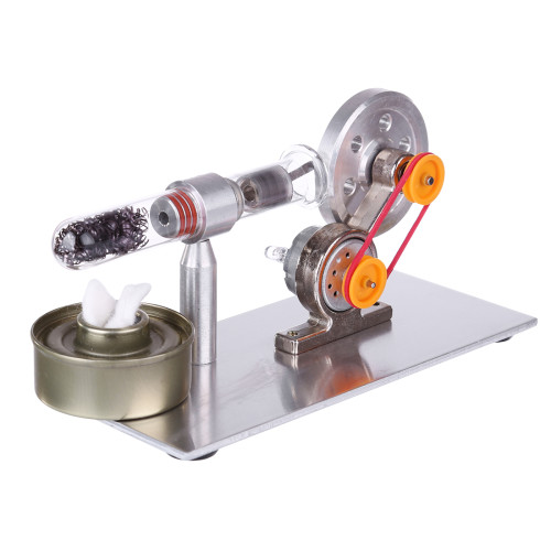 New Single Cylinder Stirling Engine