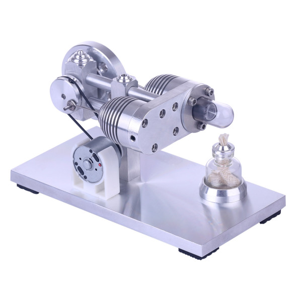 Aluminium Alloy Quartz Heating Tube Stirling Engine