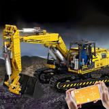 1830+Pcs 2.4g 4CH MOC Remote Control Excavator Building Block Bricks