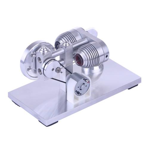 Aluminium Alloy Quartz Heating Tube Stirling Engine