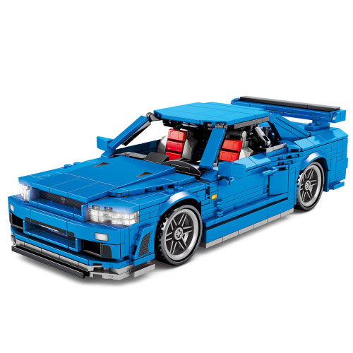 833Pcs Sports Car/Supercar  Assembly Bricks Blocks