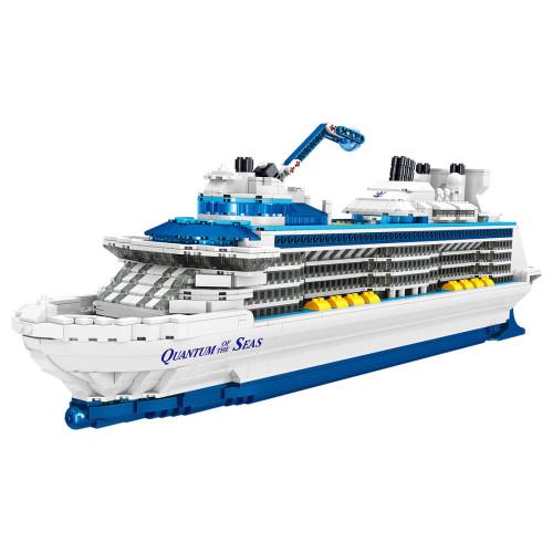 2428Pcs Quantum of the Seas Cruise Liner Assembly Bricks Blocks
