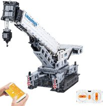 4000Pcs MOC 2.4G Multichannel APP RC Crawler Crane 11200 Assembly Bricks Block