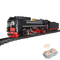 1552Pcs MOC 2.4g Remote Control Steam Train Bricks Blocks