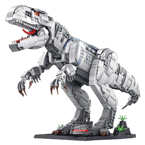2102Pcs DIY Dinosaur Assembly Bricks Block