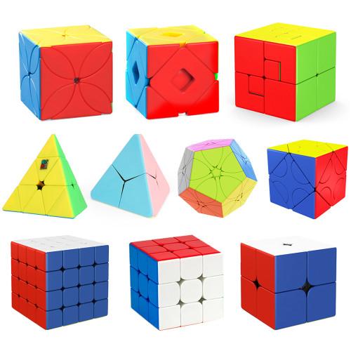 10Pcs DIY Moyu Speed Cube Set