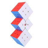 Cube Twist Triple 3x3 Conjoined Magic Cube