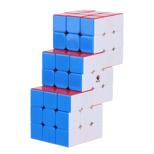 Cube Twist Triple 6x6 Conjoined Magic Cube - Stickerless