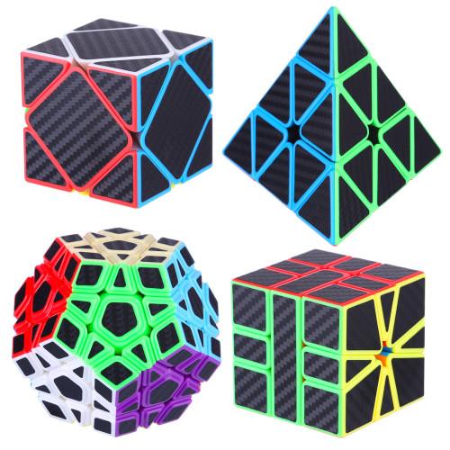 MoYu MFJS Meilong Carbon Fiber Non-Cubic Magic Cube