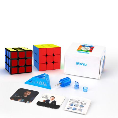 MFJS RS3M 3x3 M Magic Cube - Black