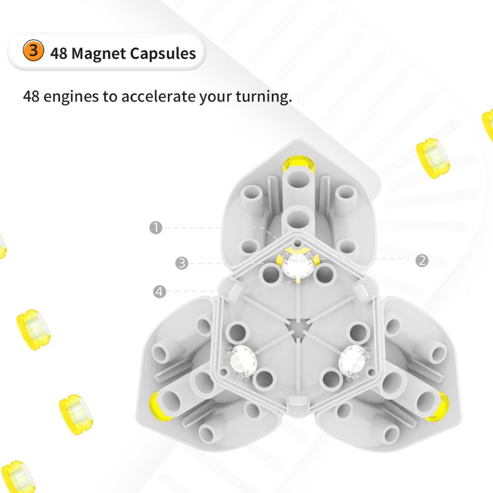 GAN 356i Carry Magic Cube - Stickerless
