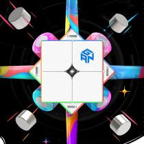 GAN 251M Leap 2x2 M Magic Cube - Stickerless