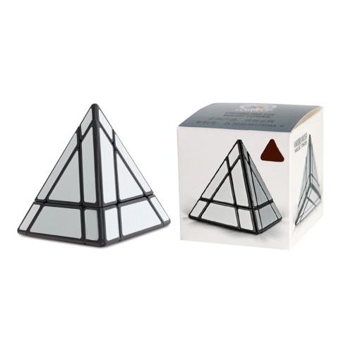 SengSo Magic Tower Pyraminxcube Magic Cube - Wire Drawing Sticker
