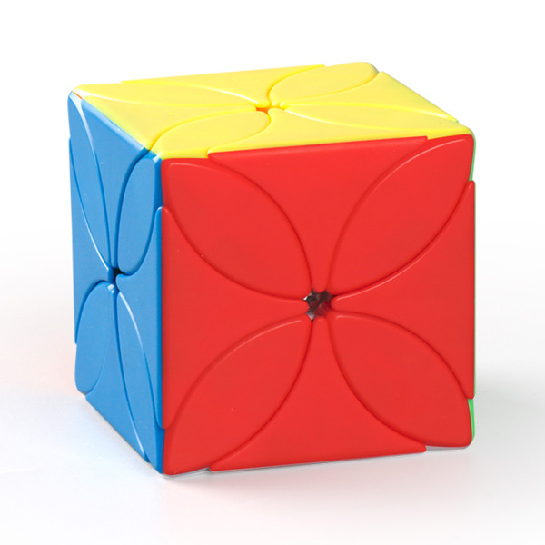 MFJS MeiLong Custom Four Leaf Clover Magic Cube - Stickerless