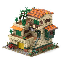 3314Pcs Italy Balcony Street View MOC-72235 Building Blocks Model Kits Toy (Licensed and Designed by Povladimir)
