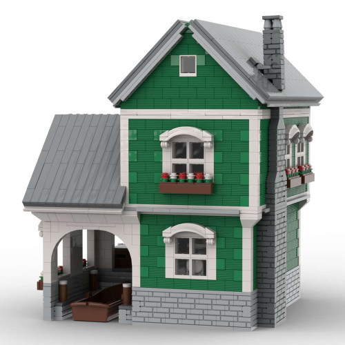3146Pcs Dock HouseII MOC-40967 Model Kits Building Blocks Compatible with 21310 Fisherman's Hut (Licensed and Designed by Jepaz)