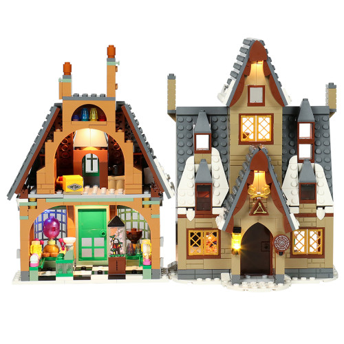 DIY LED Lighting Kit Compatible with Lego 76388 (LED Included Only, No LEGO Kit)  - Standard Version