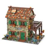 2950Pcs-MOC-Italian-Residential-Street-View-Model-MOC-77566-Building-Blocks-Model-(Licensed-and-Designed-by-Povladimir)