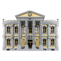 13905Pcs MOC-77106 The Court House Building Blocks DIY Small Particle Model without Stickers(Licensed and Designed by Stebrick)