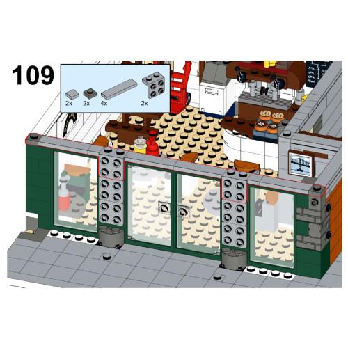 10462Pcs Custom MOC-74911 Alternative Modular Street Building Blocks DIY Small Particle Model(Licensed and Designed by Gabizon)
