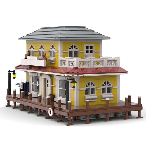 2776Pcs MOC-39949 High Reduction Pet Shop Architectural Bricks Model Building Block Kits (Licensed and Designed by Jepaz)