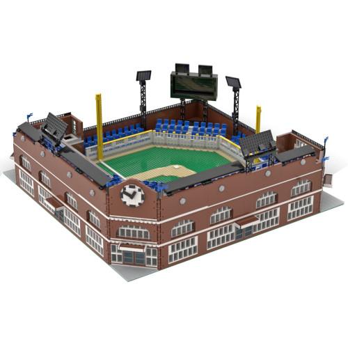 7313Pcs Custom MOC-76626 Modular Baseball Stadium - Brick Figure Scale Small Particle Model DIY Building Blocks (Licensed and Designed by Gabizon)