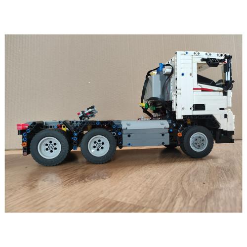 2336+Pcs MOC-77580 1: 17 Dynamic RC Technic Tow Truck Small Particle Building Blocks Stem Toys - White