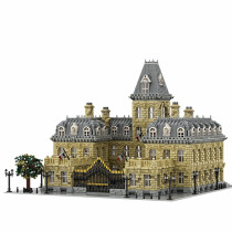 23399Pcs French Palace 10th Anniversary Edition MOC-70573 French Palace V2.0 Bricks DIY Building Block Small Particle Model ( Licensed and Designed by Stebrick )