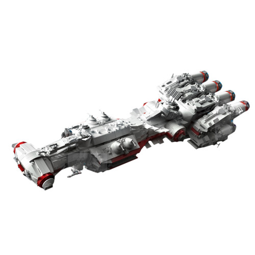 2905Pcs MOC Sci-Fi Spacecraft Model Spaceship Bricks Toys Educational Building Blocks Toys