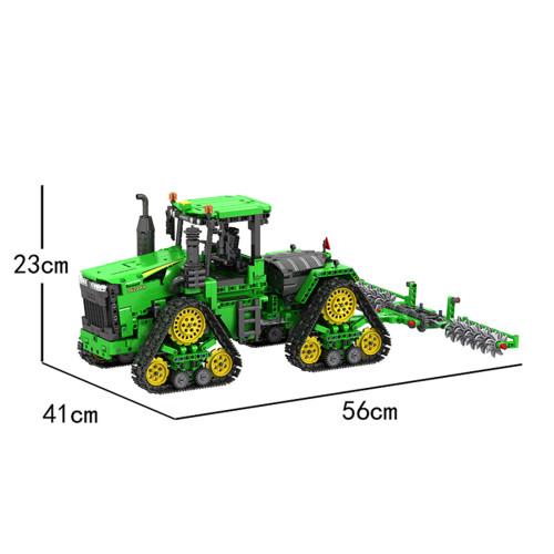 1706Pcs MOC Remote Control Crawler Tractor DIY Building Blocks Bricks Toys