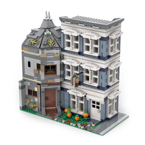 2258Pcs Modular Central Perk Cafe - Pub MOC-54894 DIY Building Blocks Toy (Licensed and Designed by LegoArtisan)