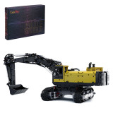 3797+Pcs-MOC-43636-Engineering-Series-Crawler-Excavator-Small-Particle-Building-Block-Set-Model-(Licensed-and-Designed-by-Flybum60)---Dynamic-Version