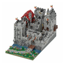 12323+Pcs The Highstone Fortress MOC-45559 Model Kits Building Blocks Toy