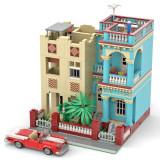 2906+Pcs-Cuba-Havana-House-Bricks-Model-DIY-Building-Block-Kits-(Authorized-and-Designed-by-SugarBricks)