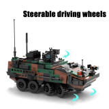 513Pcs-Modern-Military-Series-Armored-Infantry-Vehicle-Bricks-Model-Kits-Small-Particle-Assembly-Building-Blocks-Stem-Toys---Camouflage
