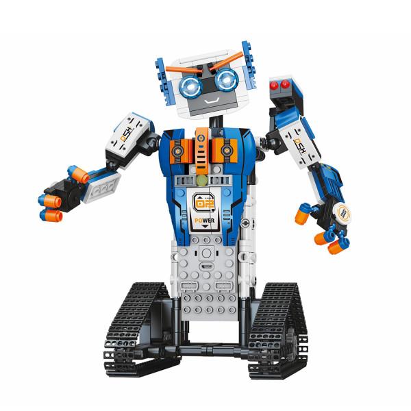 447Pcs STEM Small Particles Smart Programming APP Control Robot Model Kits Building Blocks Toy