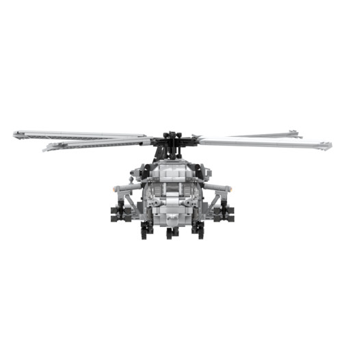 1296Pcs Modern Military Series Black Hawk Helicopter Building Blocks Toy