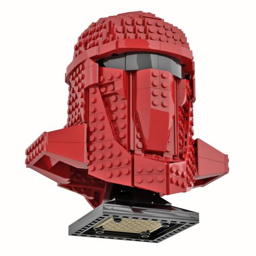 592Pcs MOC-62475 War Helmet Bricks Model DIY Building Block Kits Compatible with Lego 75277/75304 (Licensed and Designed by Albo)