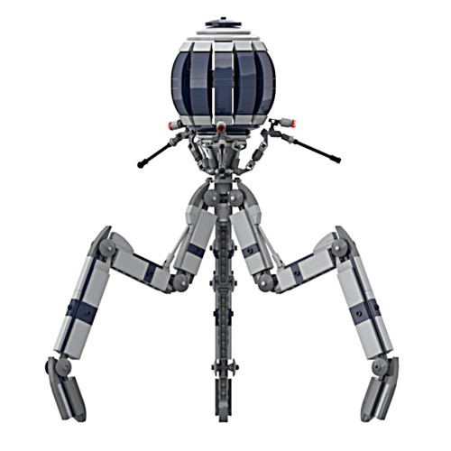 589Pcs The Octuptarra Magna Tri-droid MOC-65366 Space Wars Building Blocks MOC Kit (Licensed and Designed by Brick_boss_pdf)