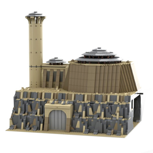 2608Pcs Jabba's Palace Ultimate MOC-79354 Space Wars Building Blocks MOC Kit (Licensed and Designed by Brick_boss_pdf)
