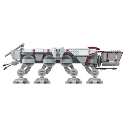 1418Pcs AT-OT MOC-61382 Space Wars Building Blocks MOC Kit (Licensed and Designed by Brick_boss_pdf)
