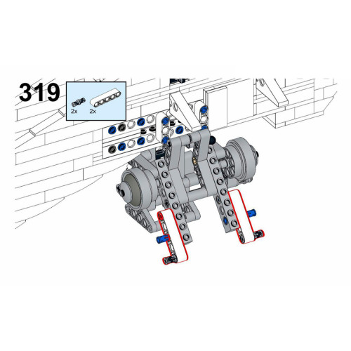 1242Pcs The Dropship LAAT MOC-82286 Space Wars Building Blocks MOC Kit (Licensed and Designed by Brick_boss_pdf)