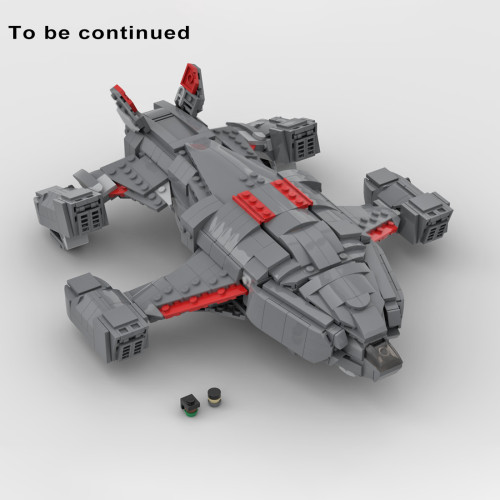 1171Pcs 1/250 Scale Chieftain Elite MOC-68713 Space Wars Sci-fi Warships Building Blocks DIY MOC Kits (Licensed and Designed by TheRealBeef1213)