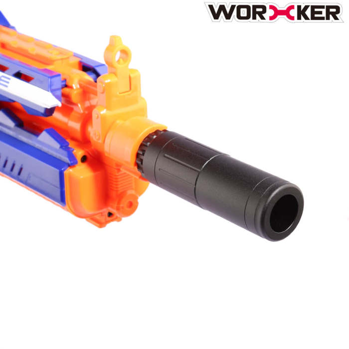 Worker 2pcs ACC Aluminum Alloy front barrel Decorator, Phantom flash hider, Muzzle Brake