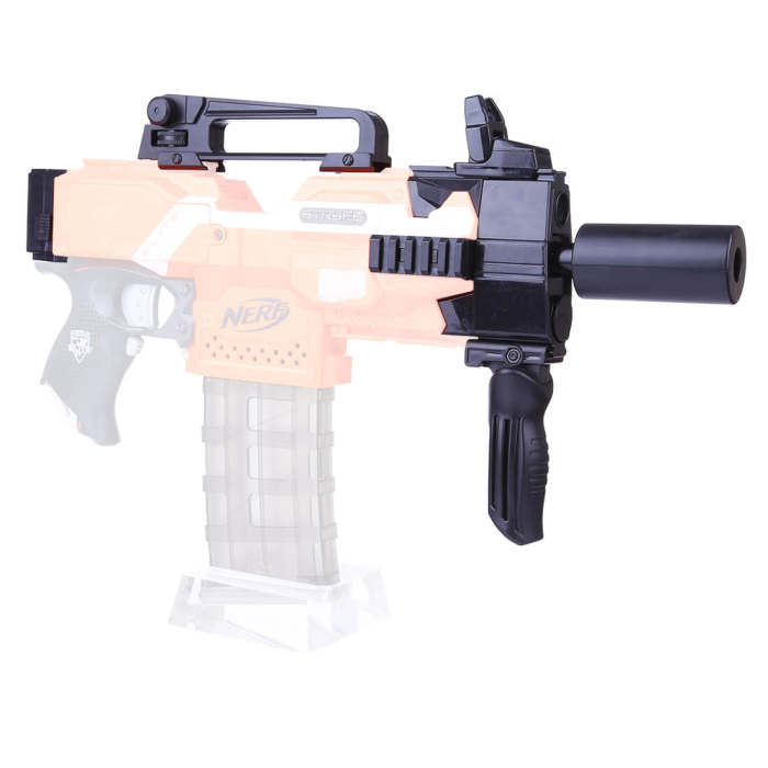 Soft Darts Blaster MP-7 Accessories Package for Nerf Stryfe
