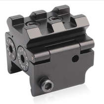 Dot Laser Sight Red Beam Scope for Rifle Pistol With Undetachable Picatinny Rail