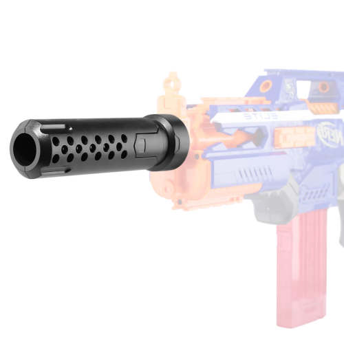Modified Decorative Tube for Nerf - Matte Black