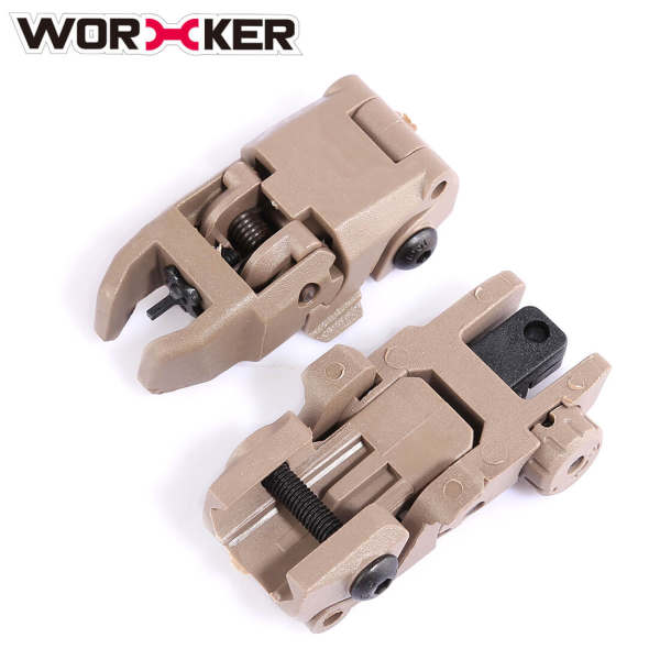 Worker MBUS2.0 Iron Sights for Modified Nerf Available in Guide Rail(21mm-width)