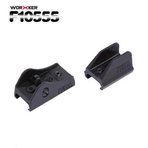 Worker F10555 3D Printing Scorpion Iron Sights for Nerf Stryfe - Black