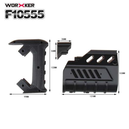 Worker F10555 Rayven Cosmetic Kit for Nerf N-Strike Rayven CS-18 Blaster